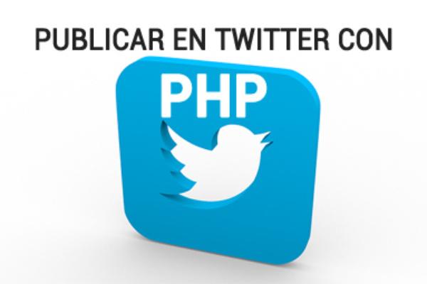 Publicar en Twitter con PHP